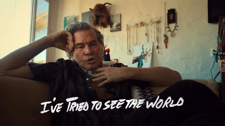 """Val Kilmer em trailer do documentário """"Val"""" - Reprodução/YouTube"""