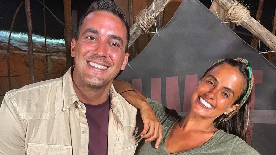 No Limite: Andre Marques fez vários elogios a Carol Peixinho e os fãs do reality já estão shippando - Reprodução/Instagram