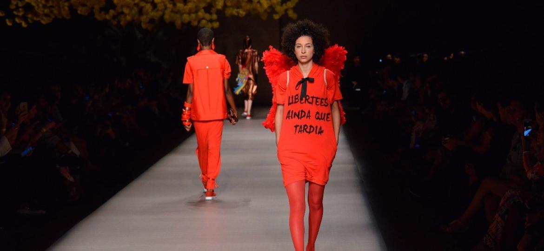 A empresa estará, ao lado de outras sete marcas, na edição internacional do Brasil Eco Fashion Week no dia 25 de setembro - Reprodução/Libertees