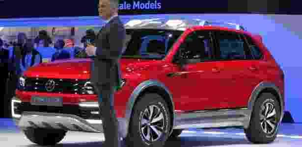 Volkswagen Tiguan GTE Active Concept - Li Bowen/Xinhua - Li Bowen/Xinhua