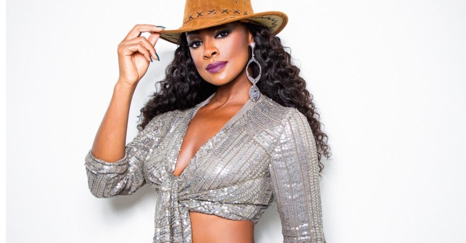 A atriz foi coroada para o Carnaval de 2013 e desde então segue com o título