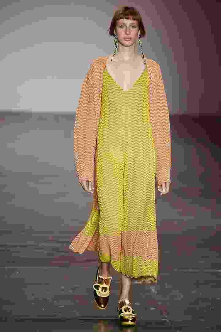 Gig Couture desfila coleção na SPFW N41 - Alexandre Schneider/UOL