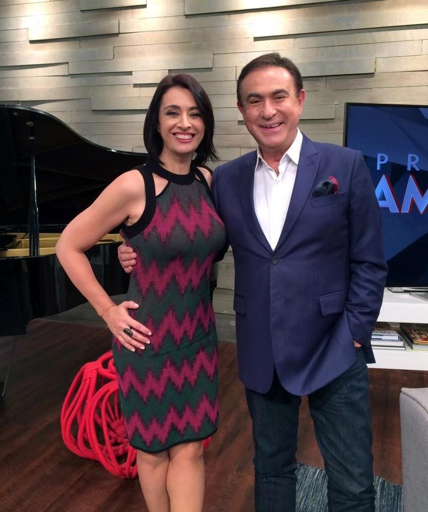 Amaury Jr. entrevista Cátia Fonseca (apresentadora do