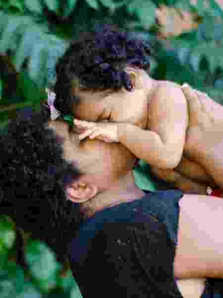 Karoline Silva, lésbica e mãe de Safira, de pouco mais de 1 ano - Arquivo pessoal