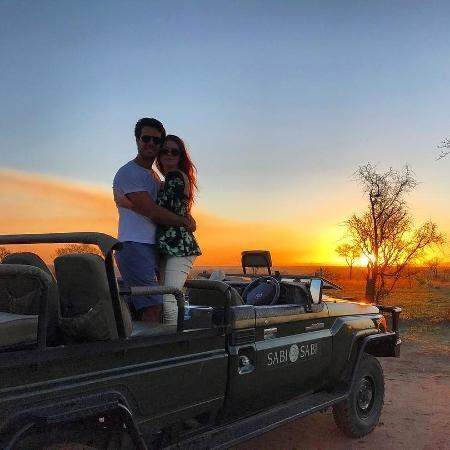 Marina Ruy Barbosa e Xandinho Negrão em safári na África do Sul - Reprodução/Instagram