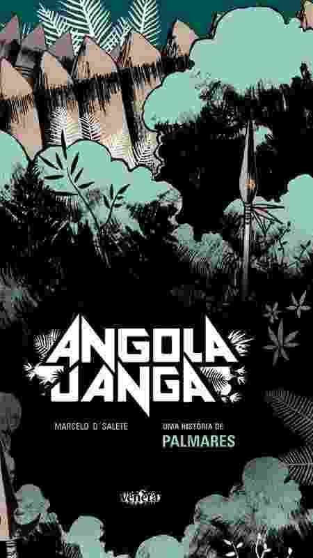 """Capa da HQ """"Angola Janga"""" - Reprodução"""