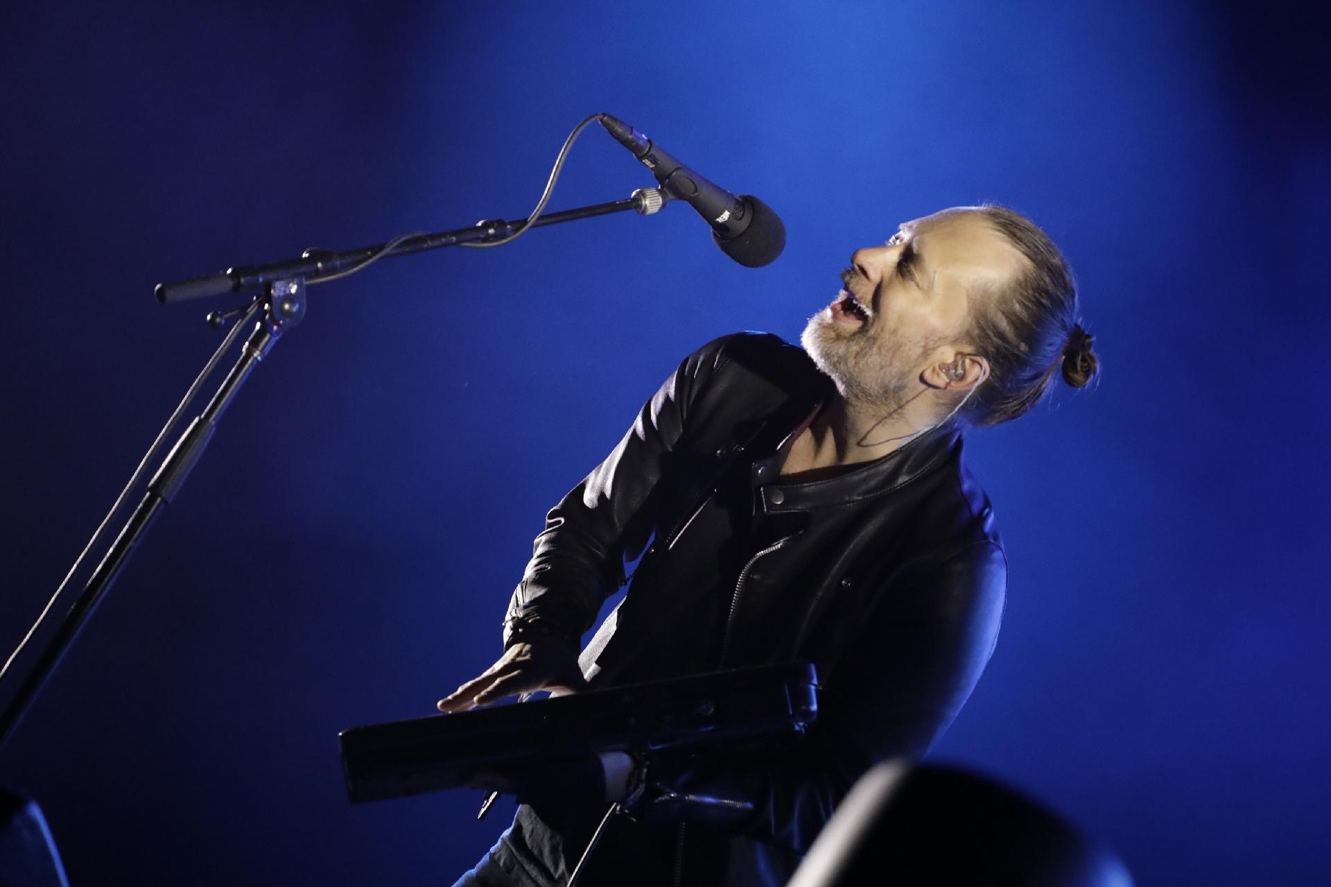 Thom Yorke e sua turma em SP | Radiohead se apresenta no Soundhearts Festival, no Allianz