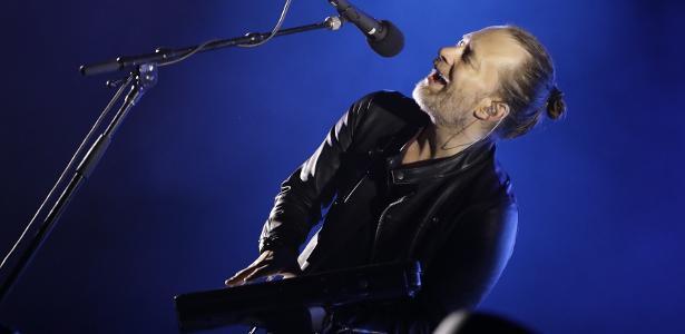 Público ficou concentrado | Radiohead se apresenta em SP com Thom Yorke