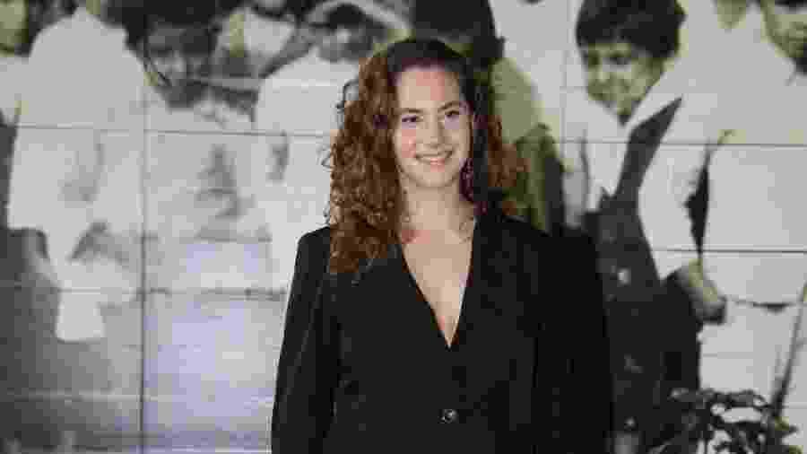 Emma Ferrer, neta de Audrey Hepburn, acompanha a 45ª edição da SPFW - Deividi Correa/AgNews
