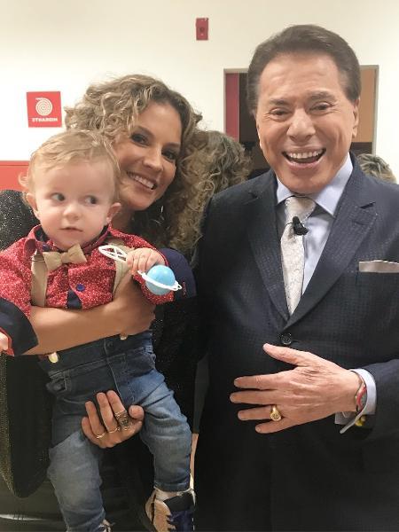 """Maíra Charken gravou participação no """"Programa Silvio Santos"""", no SBT - Reprodução/Instagram/mairacharken"""