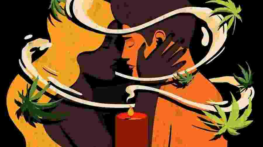 Produtos a base de cannabis são usados principalmente por mulheres para potencializar experiências sexuais - Raphaelle Martin/BBC Three