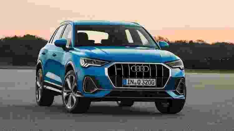 Segunda geração do Q3 chegou ao mercado europeu em 2018 com visual inspirado no Audi Q8 - Divulgação