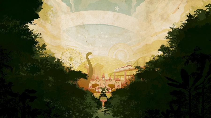 """Arte da capa do livro """"Tupinilândia"""", do escritor Samir Machado de Machado - Kakofonia/Divulgação"""