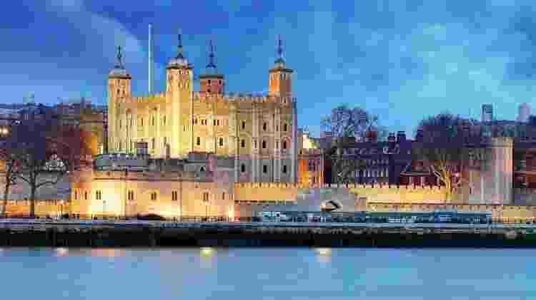 Torre de Londres, na Inglaterra - Getty Images/iStockphoto - Getty Images/iStockphoto