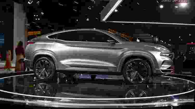 Fastback foi uma das estrelas do último Salão do Automóvel, em 2018 - Murilo Góes/UOL