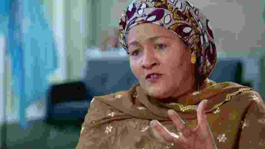 Amina Mohammed já foi ministra do Meio Ambiente da Nigéria - BBC
