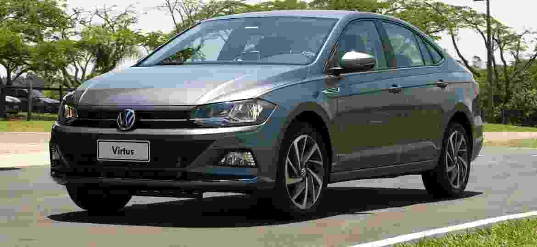 VW Virtus tem entre-eixos maior que o do Polo e conta com porta-malas de 521 litros; leva mais bagagem que SUVs compactos - Marcelo Ferraz/UOL
