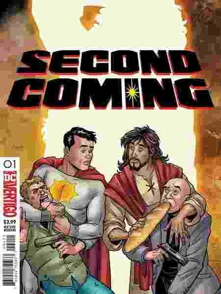 """Capa de """"Second Coming"""" com Sun-Man e Jesus - Reprodução"""