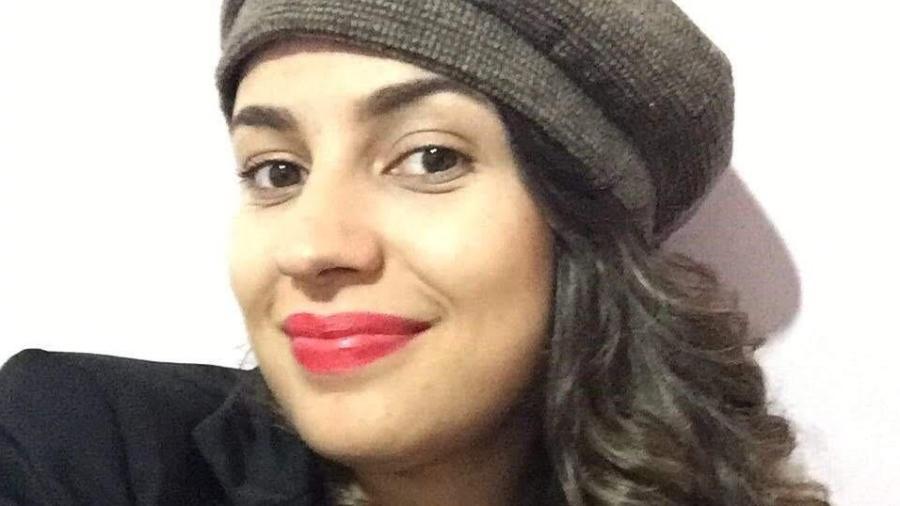 Gabriele Dias, demitida aos cinco meses de gravidez  - Arquivo pessoal
