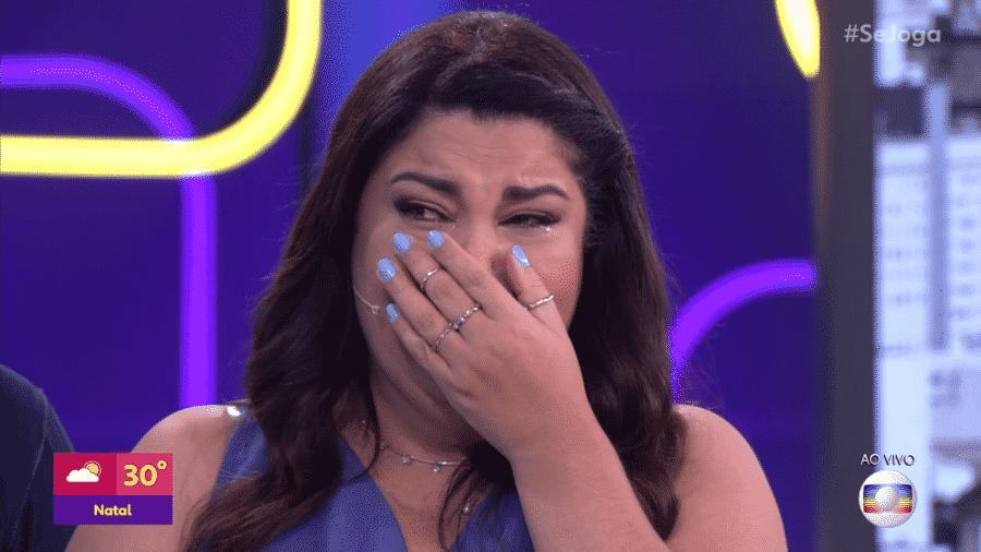 Fabiana Karla no Se Joga - Reprodução/Globoplay