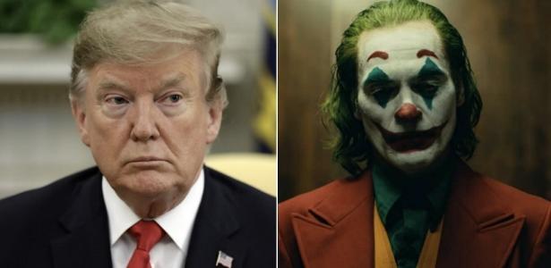 Donald Trump fecha Casa Branca para sessão particular de Coringa - UOL