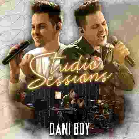 Capa do CD Studio Sessions, de Dani Boy - Divulgação