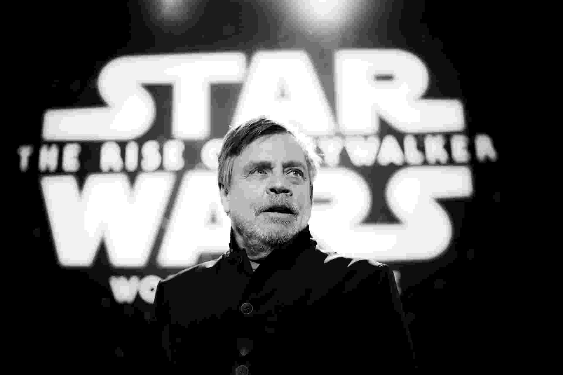 Mark Hamill, o Luke Skywalker, chega para estreia de Star Wars: A Ascensão Skywalker - RICH FURY / GETTY IMAGES NORTH AMERICA / AFP