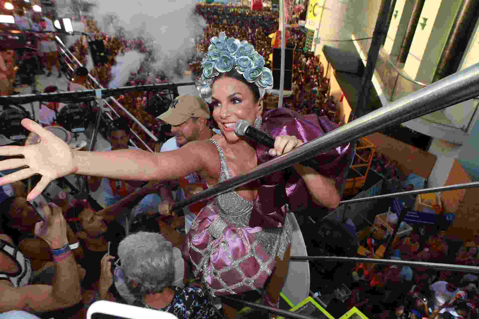Ivete Sangalo levanta público de Salvador em segundo dia de trio - Dilson Silva/AgNews