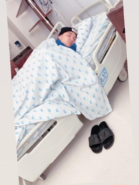 MC Gui foi hospitalizado com fortes dores e passará por exames - Reprodução/Instagram