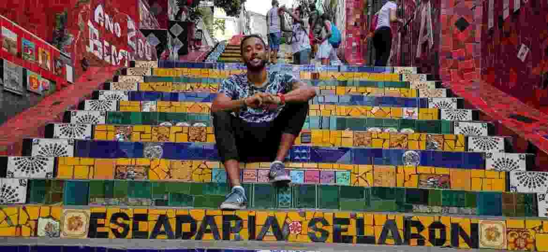 O francês Joakim Kudawoo e mais quatro viajantes contam como as notícias sobre o Brasil devem influenciar próximas visitas ao país - Arquivo pessoal