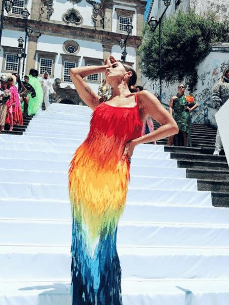 """Anitta deu spoiler do clipe de """"Me Gusta"""", parceria com Cardi B lançada na próxima sexta - Reprodução/Instagram/@anitta"""