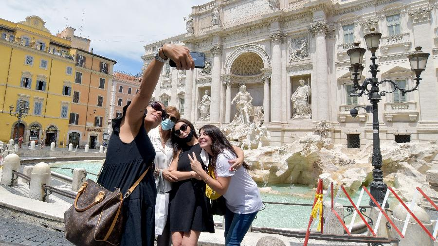 Fontana di Trevi, em Roma, é um dos principais pontos turísticos da capital italiana - Corbis via Getty Images