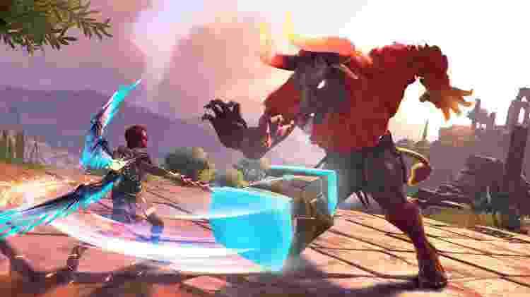 Immortals Fenyx Rising game criatura mitológica - Divulgação/Ubisoft - Divulgação/Ubisoft