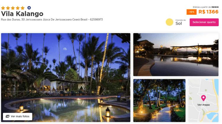 simone hotel - Reprodução/Instagram/Hurb - Reprodução/Instagram/Hurb