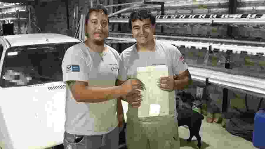 Patrão dá carro a funcionário na Argentina - Reprodução