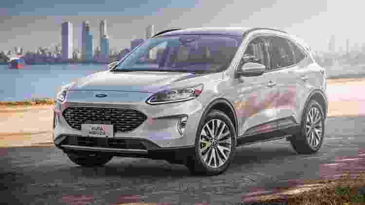 Ford Escape híbrido plug-in Kuga - Divulgação - Divulgação