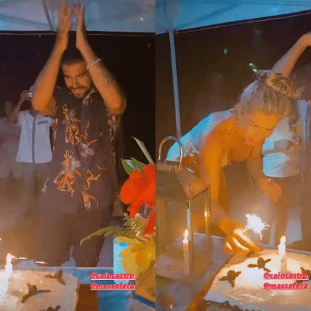 Caio Castro comemorou aniversário em Noronha - Reprodução/Instagram