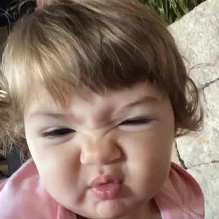 Clara Maria, filha de Tatá Werneck e Rafael Vitti - Reprodução/Instagram @tatawerneck