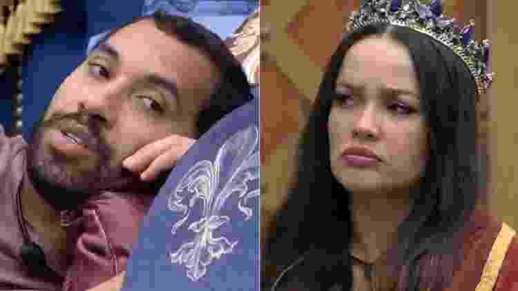 BBB 21: Gilberto e Juliette falam sobre Pocah no 16º paredão - Reprodução/Globoplay - Reprodução/Globoplay