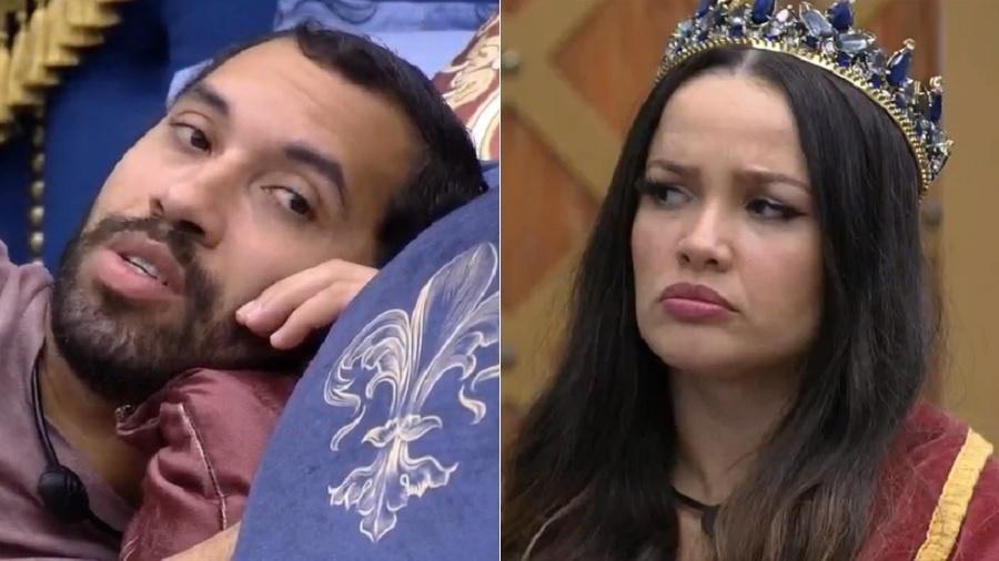BBB 21: Gilberto e Juliette falam sobre Pocah no 16º paredão - Reprodução/Globoplay