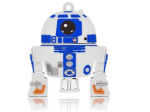 Pen Drive R2D2 - Star Wars - 8GB USB Leitura 10MB/s e Gravação 3MB/s Multilaser - PD036 - Divulgação - Divulgação