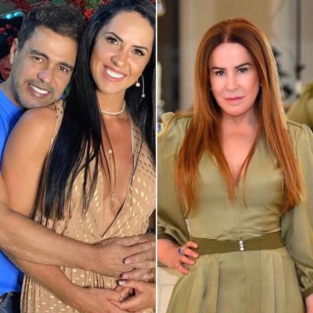 Zezé e Graciele / Zilu Godoi - Reproduão/Instagram