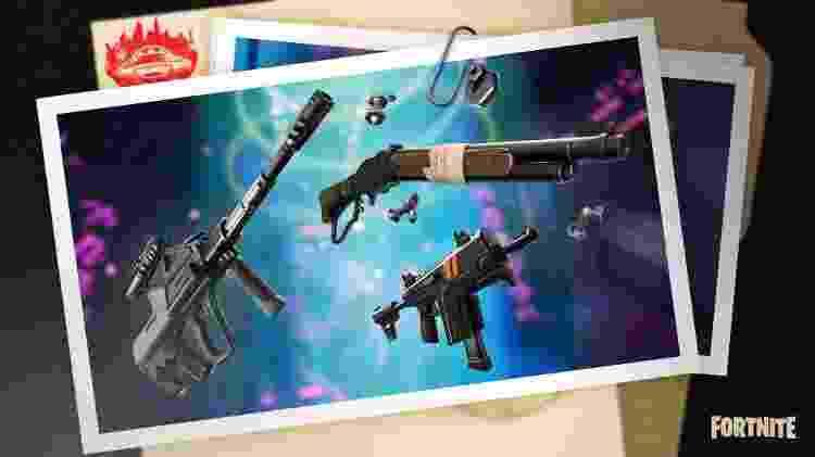Fortnite armas antigas - Divulgação/Epic Games - Divulgação/Epic Games