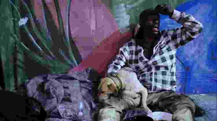 Max e a cadela Duquesa - Divulgação - Divulgação