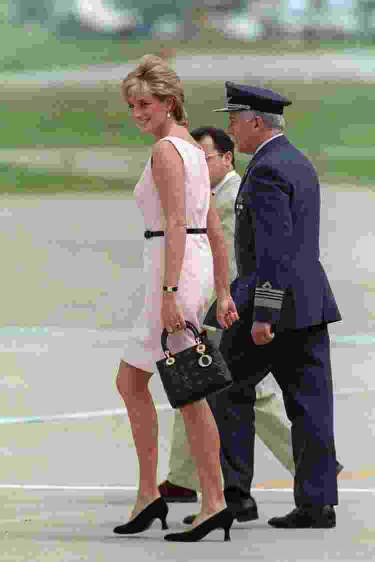 "Princesa Diana com a ""Lady Dior"" - Getty Images - Getty Images"
