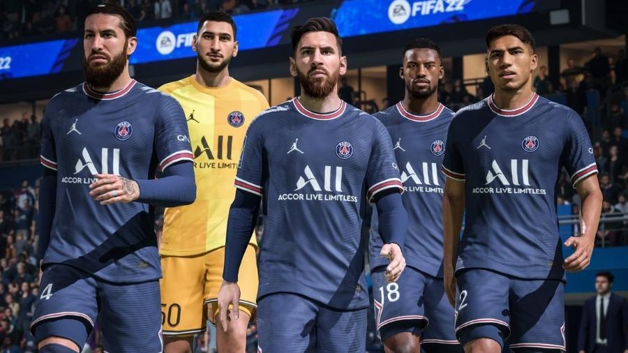 FIFA 22 - Divulgação/EA
