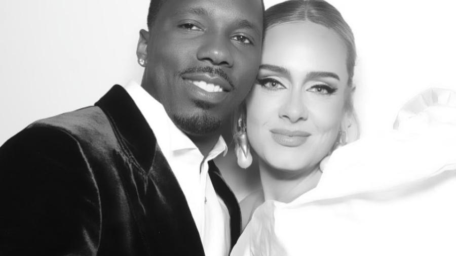 Adele e Rich Paul - Reprodução / Instagram