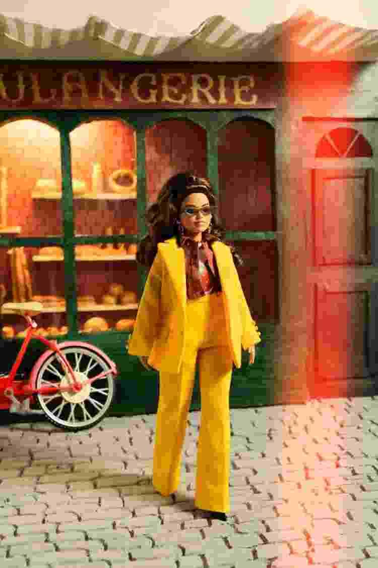Barbie e sua coleção de diversidade assinada por Alessandro Enriquez na Semana de Moda de Milão em setembro de 2021 - Divulgação - Divulgação