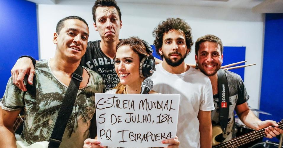 O repertório do show de domingo (5) no Parque do Ibirapuera já está definido, mas o quinteto preferiu esconder um pouco jogo. A banda só adiantou que convidou um ator -