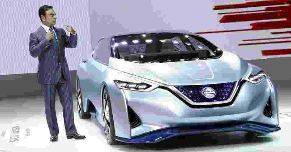 Nissan IDS Concept no Salão de Tóquio 2015 - Thomas Peter/Reuters
